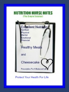 Welcome To Nutrition Nurse Notes!